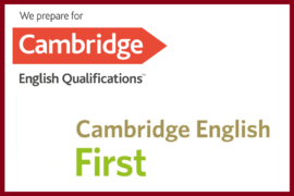 Corso Preparazione Certificazione First FCE Esame B2 Cambridge English